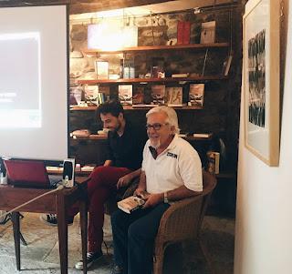 El autor y el editor en el acto