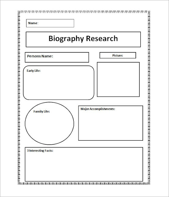 outline graphic organizer research paper