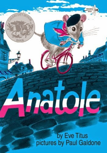 Anatole, part of children's book review list about France