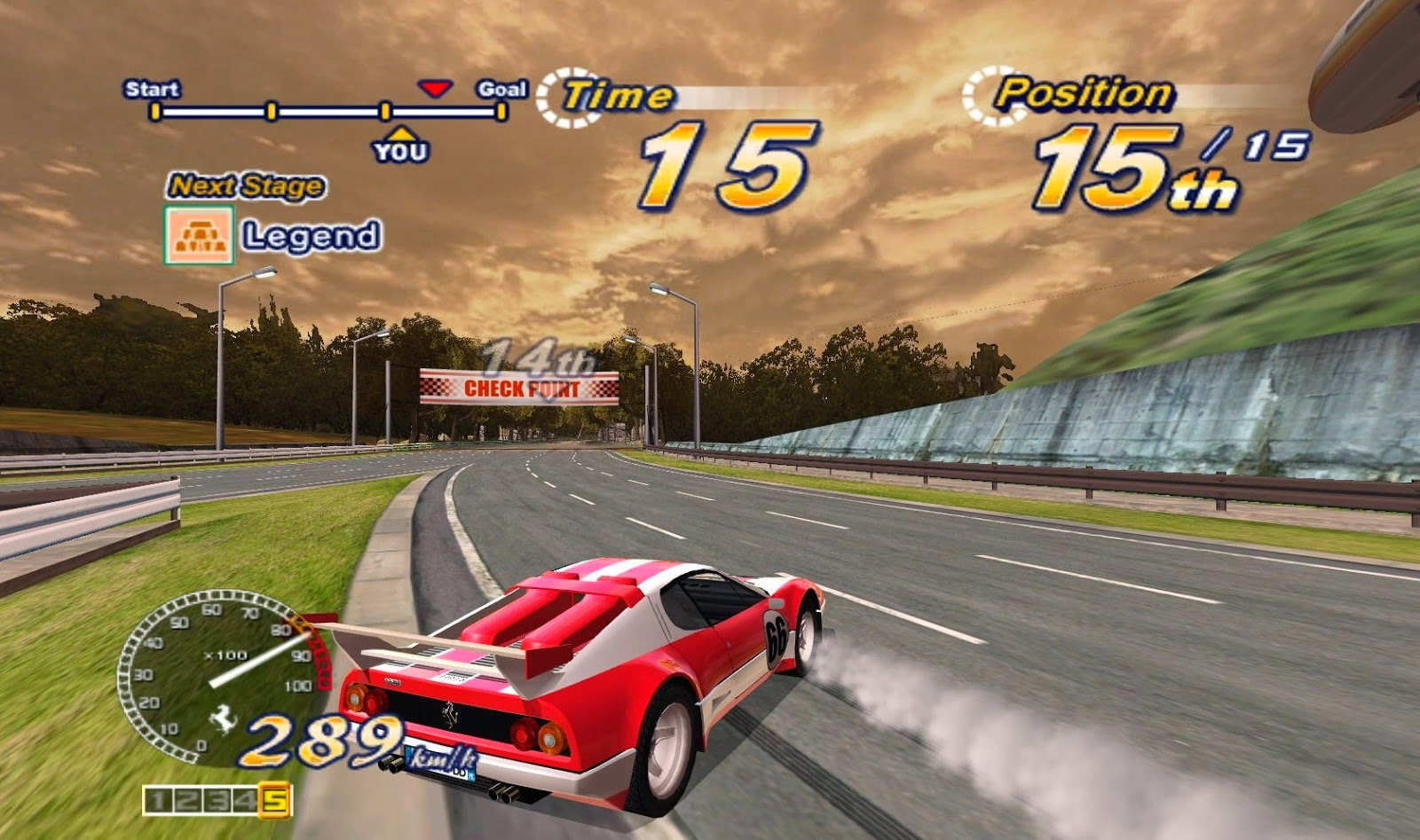 Outrun 2006 Coast 2 Coast Game - Free Download Full Version