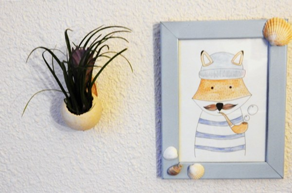 DIY : fille de l'air murale
