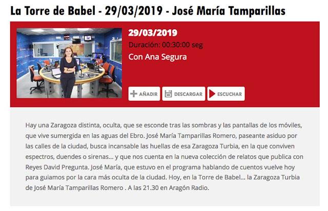 http://www.aragonradio.es/podcast/emision/la-torre-de-babel-29032019-jose-maria-tamparillas/