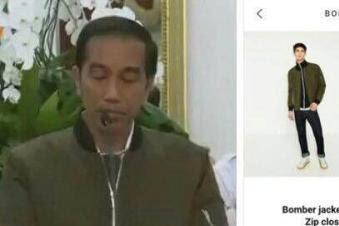 Kaesang berkomentar tentang Jaket bomber Zara Jokowi