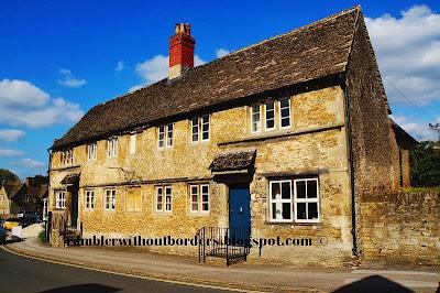 Lacock village, Wiltshire, UK