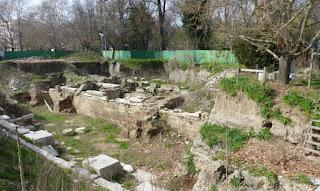 Foro Romano de Plovdiv.