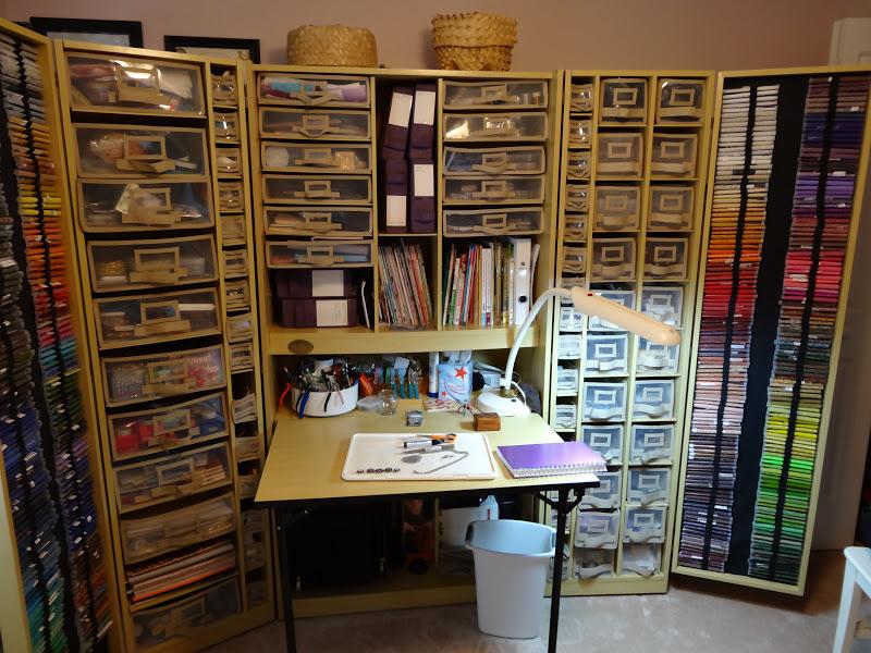 Love Joy And Peas Janet S Super Organized Craft Amp Hobby Room