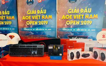 AoE Việt Nam Open 2019 tiếp tục đón nhà tài trợ Assassin với vô số những phần quà hấp dẫn tại địa điểm thi đấu