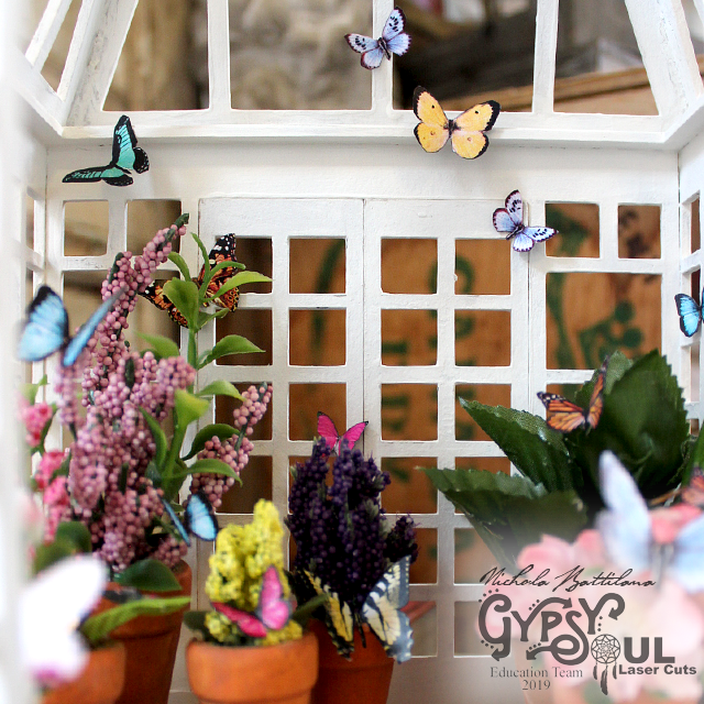 Small Conservatory - Butterfly House - gslcuts.com