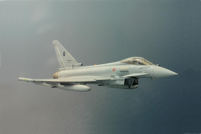 Italian Eurofighters NATO Romania