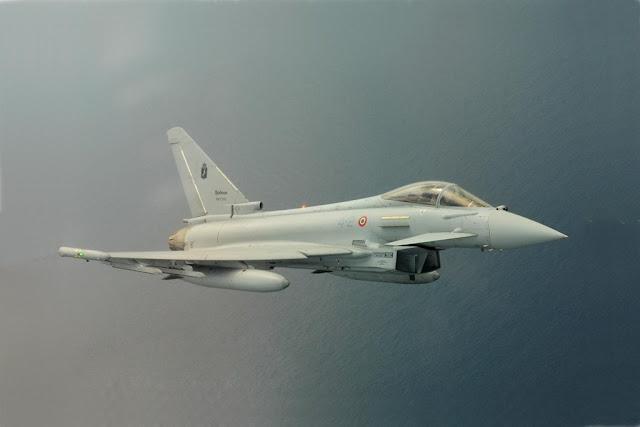 Italian Eurofighters NATO Romania