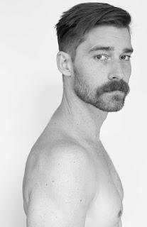 Mustache and undercut