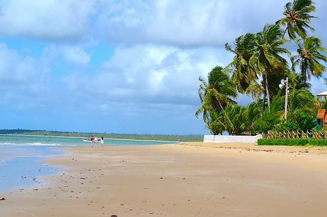 A área da Praia de Tamandaré mais exclusiva, próxima à minha pousada