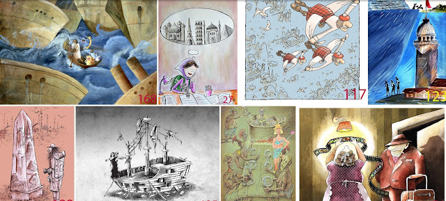 Finalist Cartoons of Tourism Cartoon Competition