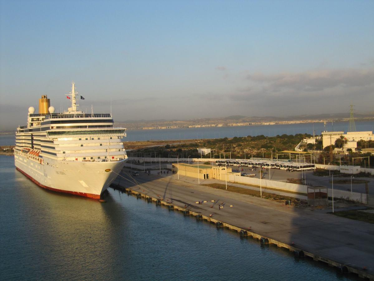 terminal cruceros de Tunez
