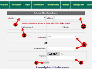 Ration card kaise online check kare