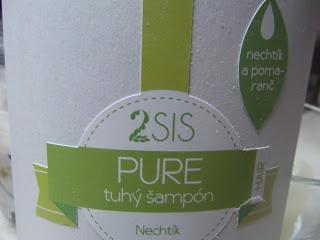 tuhý šampón Pure
