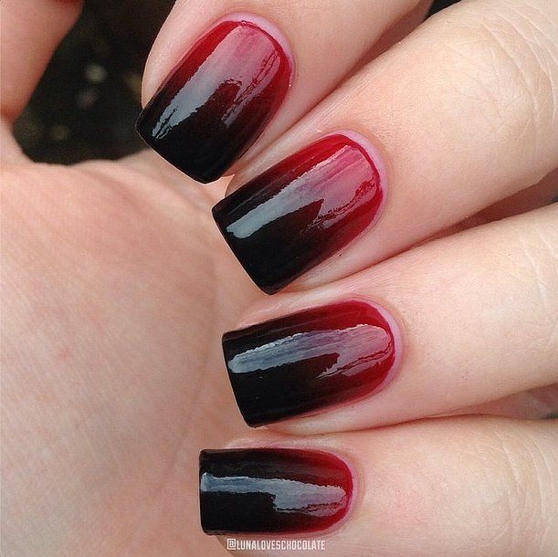 RETRO KIMMER'S BLOG: CLEVER NAIL ART FOR OCTOBER!