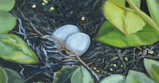 Two Peas in a Pod, Melissa A. Torres, 8x10 oil on canvas panel