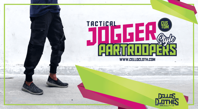 Custom Celana Tactical Jogger Partroopers Style