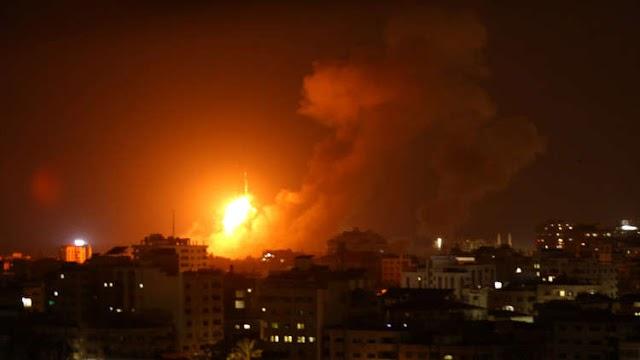 حركة حماس تطلق صواريخ على إسرائيل