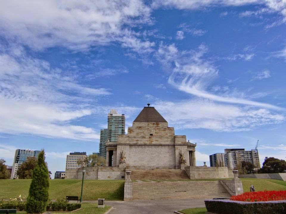 [澳洲工作假期系列] 墨爾本 戰爭紀念館 Shrine of Remembrance 1