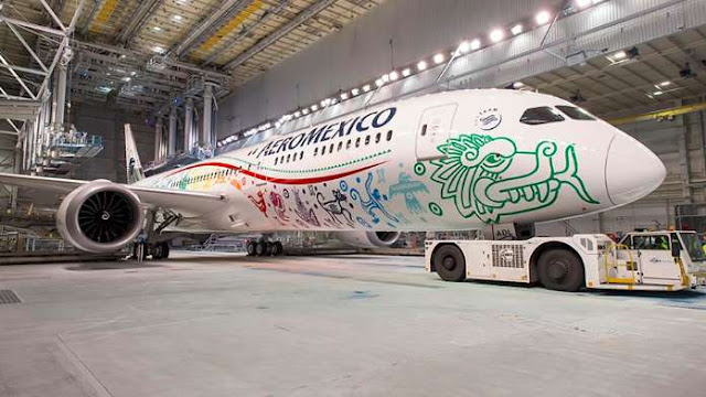 Aeroméxico 'corta' las alas a 9 rutas a partir de 2019