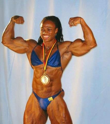 Top Female Body Builder Renne Toney - The Best