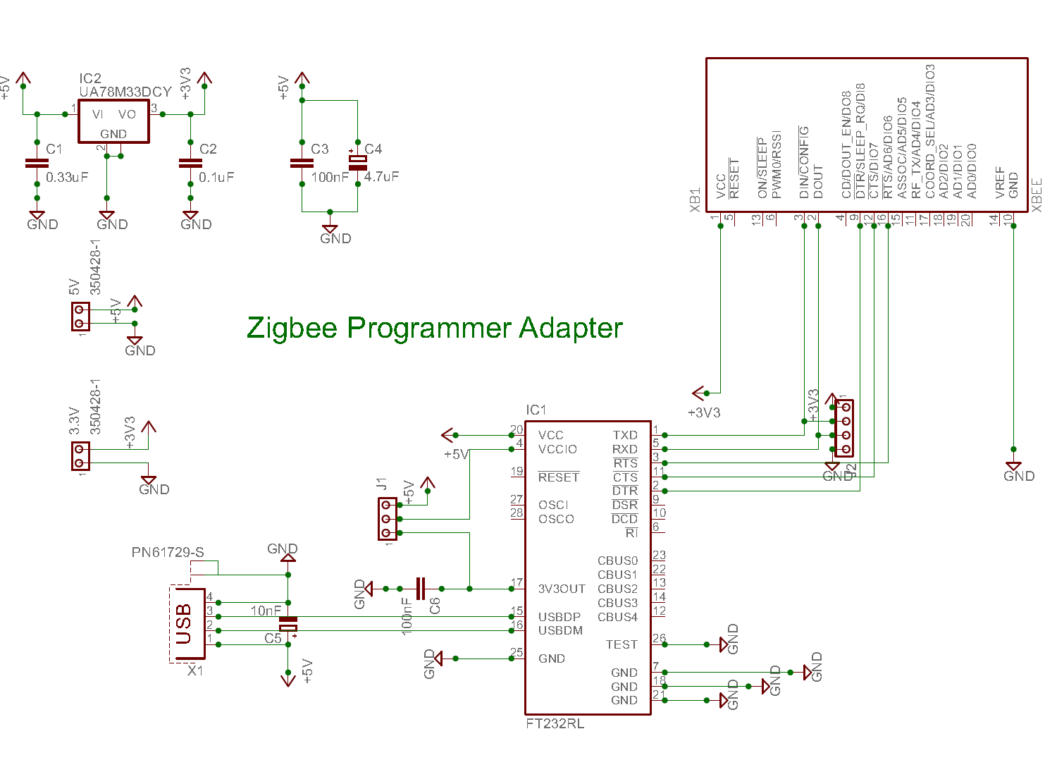small resolution of circuit diagram for zigbee adapter