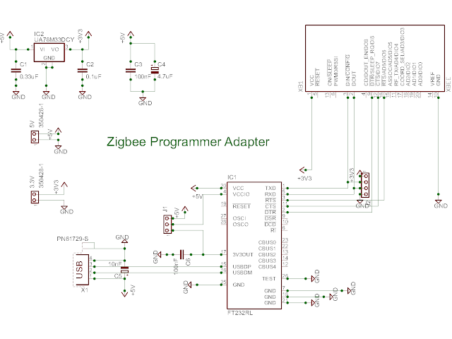 Zigbee Programmer Adapter