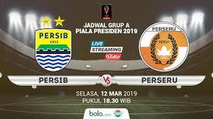 Persib Bandung VS Perseru Serui Piala Presiden 2019