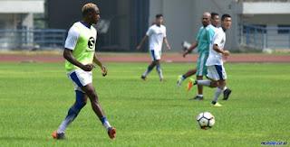 Igbonefo Siap Main di Laga Persib Bandung vs Borneo FC