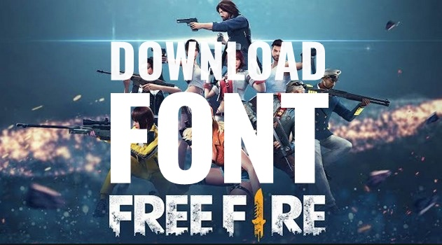 Download Font Free Fire dan Cara Membuatnya di PixelLab