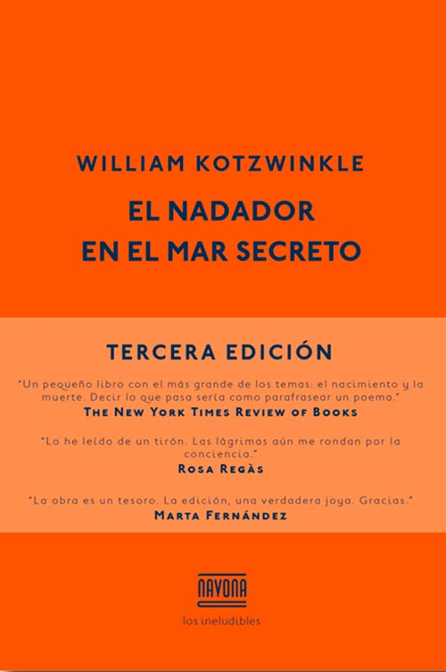 Portada de El nadador en el mar secreto de William Kotzwinkle
