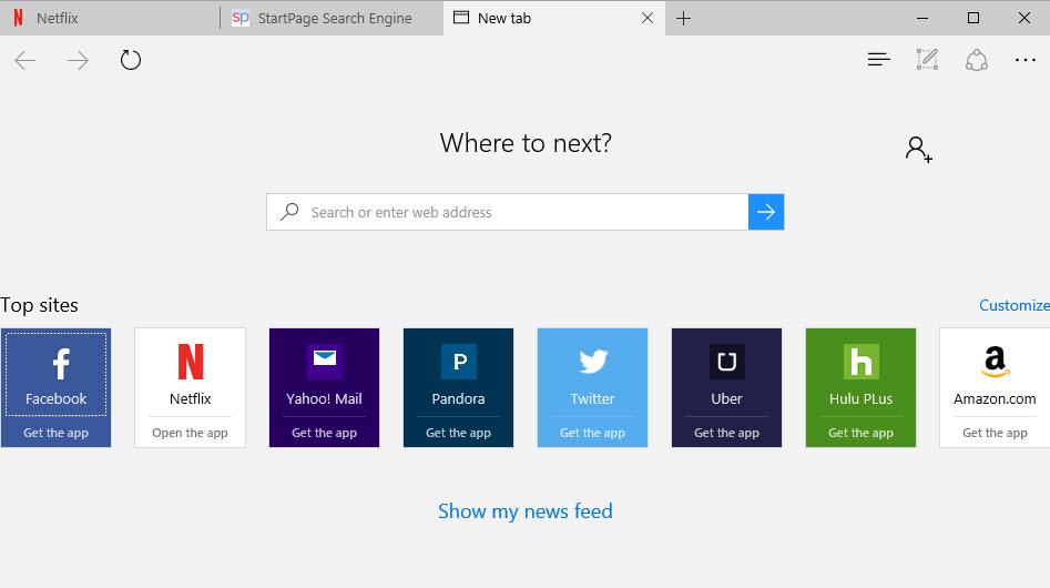 Mudah Memodifikasi Halaman New Tab dari Microsoft Edge