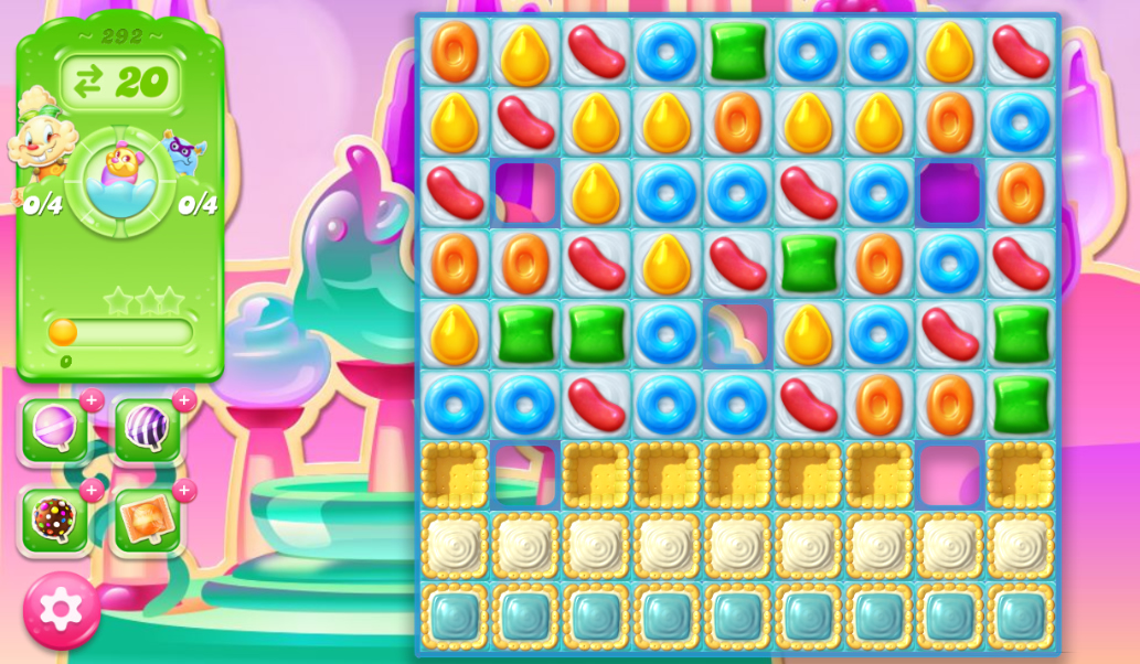 Candy Crush Jelly Saga 292