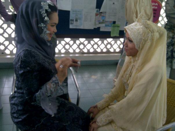 Gambar Siti Nurhaliza Mekap Adik Ipar Masa Akad Nikah ...