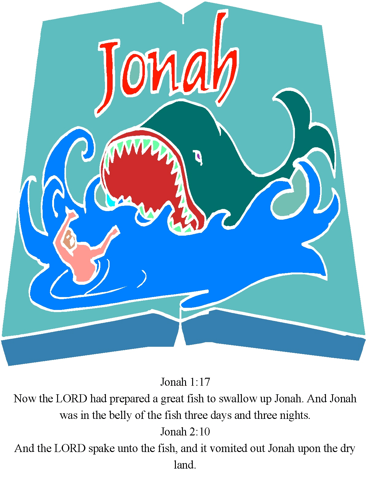 Children S Gems In My Treasure Box Jonah And The Whale