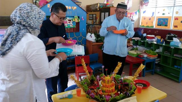 juri menilai nasi tumpeng