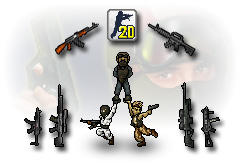 Download Game Shooter Counter-Strike 2D 0.1.2.1 Ringan