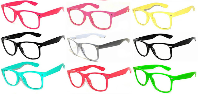 Pretend reading glasses for kids