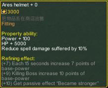Dream One Piece Ares Helmet detail