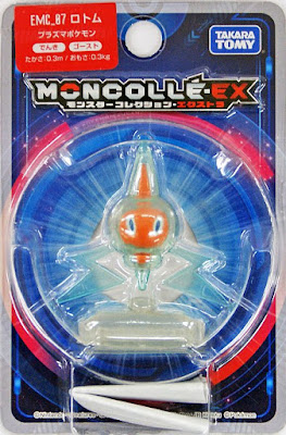 Rotom figure Takara Tomy Monster Collection MONCOLLE EX EMC series
