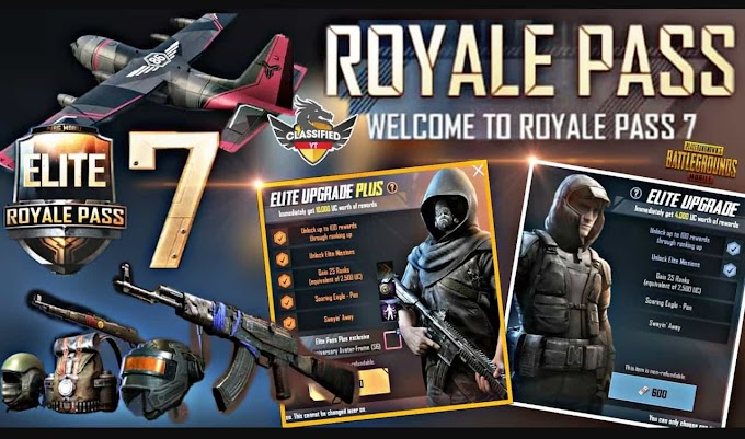 PUBG Season 7 Royale Pass Leak. New Skins, Weapons and More in 2019 Update
