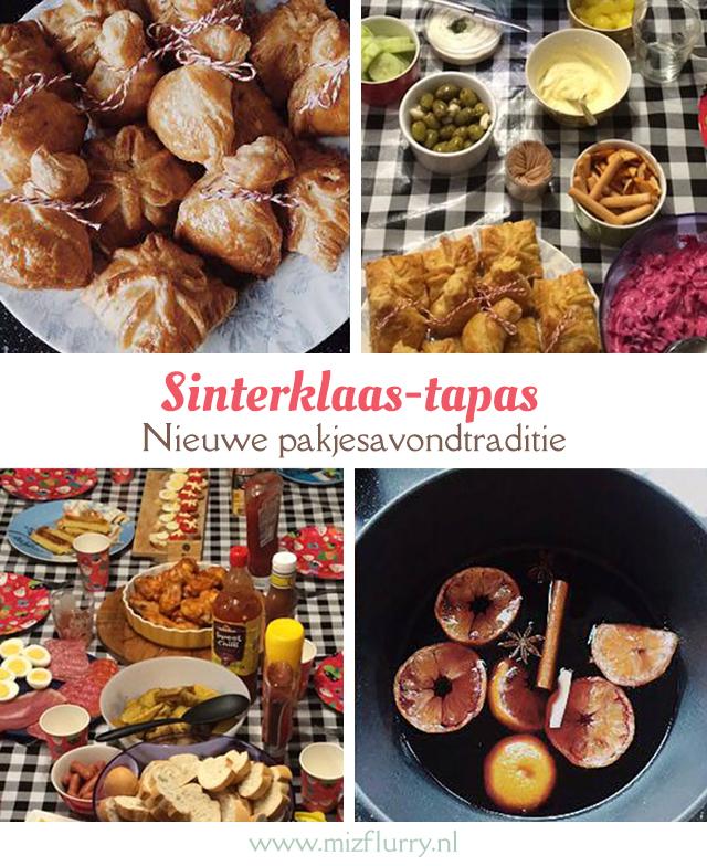 Sinterklaas-tapas - nieuwe pakjesavondtraditie