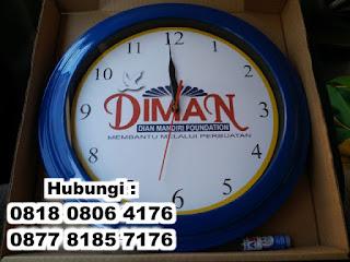 Jual Jam Dinding Promosi di Tangerang