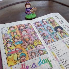 Ewafebri art doodle journal