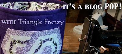 Triangle Frenzy Swirl Blog Pop