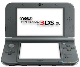 New Nintendo 3DS XL - Hitam Metalik