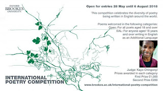 Win 1000 In Oxford Brookes International Poetry Competition 2018