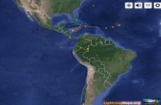 LightningMaps: mapa online que muestra los rayos que caen en la Tierra en tiempo real